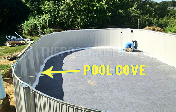 What is foam pool cove help center for Pool liner installation